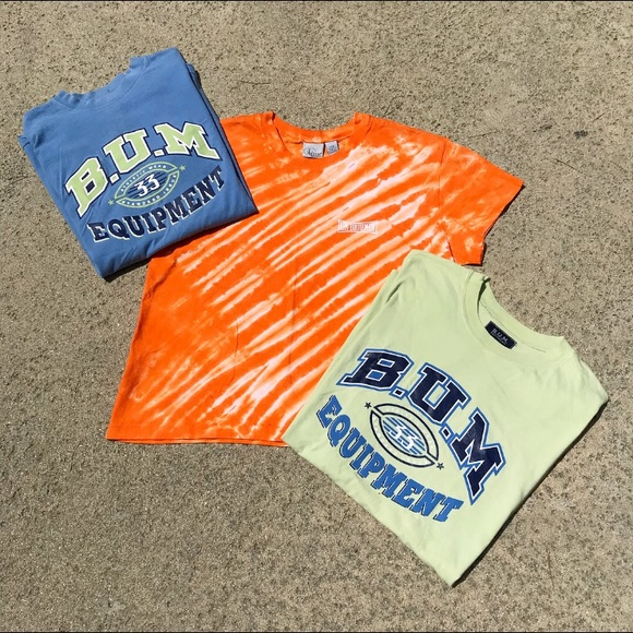 B.U.M. Equiptment Other - 🚫SOLD Equipment T-Shirt LOT OF 3 DIFFERENT COLORS